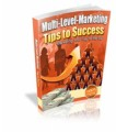 Multi Level Marketing Tips To Success Mrr Ebook