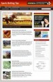 Sports Betting Blog Personal Use Template