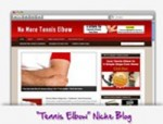 Tennis Elbow Blog Personal Use Template With Video