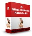 25 Dating  Relationship V19 PLR Article
