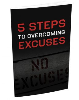 5 Steps To Overcoming Excuses MRR Ebook With Audio