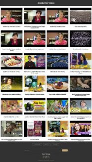 Acai Berries Instant Mobile Video Site MRR Software