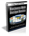 Business Web Design Basics Course PLR Autoresponder Messages