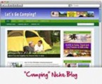 Camping Wordpress Blog Personal Use Template