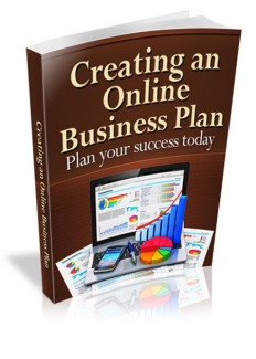 Creating An Online Business Plan MRR Ebook