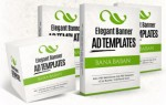 Elegant Banner Ad Templates Personal Use Graphic