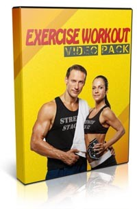 Exercise Workout Video Pack Personal Use Video