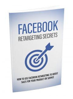 Facebook Retargeting Secrets MRR Ebook