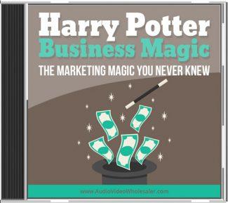 Harry Potter Business Magic MRR Audio