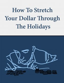 How To Stretch Your Dollar Through The Holidays PLR Ebook