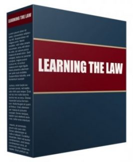 Learning The Law PLR Article