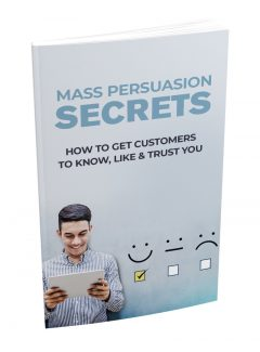 Mass Persuasion Secrets MRR Ebook