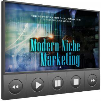 Modern Niche Marketing Video Upgrade MRR Video With Audio