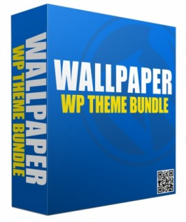 New Wallpaper WordPress Theme Bundle Personal Use Template