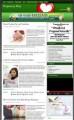 Pregnancy Niche Blog PLR Template