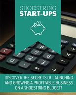 Shoestring Startups Personal Use Ebook With Video