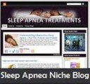 Sleep Apnea Niche Blog Personal Use Template