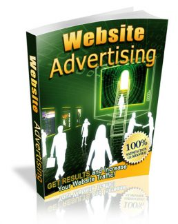 Website Advertising Giveaway Rights Ebook