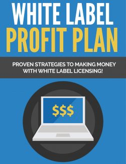 White Label Profit Plan PLR Ebook