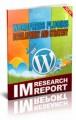 Wordpress Plugin Strategy And Development MRR Ebook