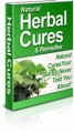 Natural Herbal Cures PLR Ebook