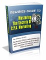 Mastering CPA Marketing Mrr Ebook With Video