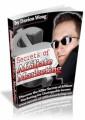 Secrets Of Affiliate Marketing Personal Use Ebook