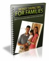 Money Saving Tips For Families Personal Use Ebook