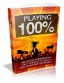 Playing 100 Percent Mrr Ebook