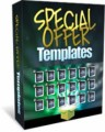 Special Offer Templates Personal Use Template With Video