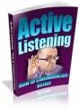 Active Listening Plr Ebook