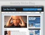 Anxiety Niche Blog Personal Use Template With Video