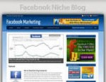 Facebook Marketing Niche Blog Personal Use Template ...