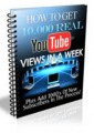 Get 10000 Views On Youtube PLR Ebook