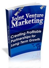 Joint Venture Marketing PLR Ebook