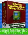 Simple Membership Generator Give Away Rights Software