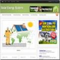 Solar Energy Niche Blog Personal Use Template