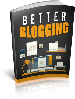Better Blogging MRR Ebook