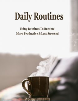Daily Routines PLR Ebook