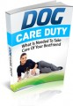 Dog Care Duty Give Away Rights Ebook