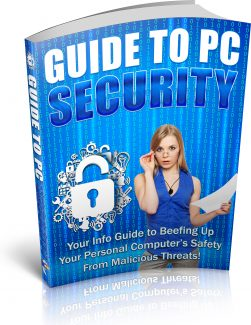 Guide To Pc Security PLR Ebook
