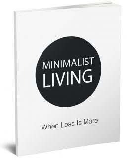 Minimalist Living When Less Is More MRR Ebook With Audio