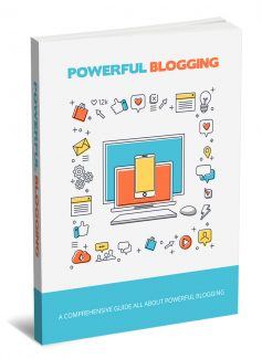 Powerful Blogging MRR Ebook