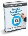 Simple Salesletter Secrets Ecourse PLR Autoresponder ...