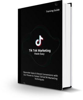 Tiktok Marketing Made Easy Personal Use Ebook