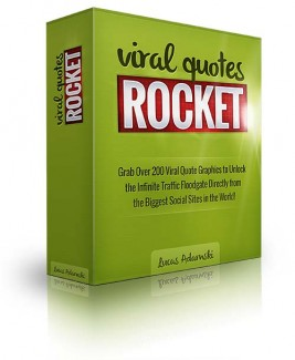 Viral Quotes Rocket PLR Graphic