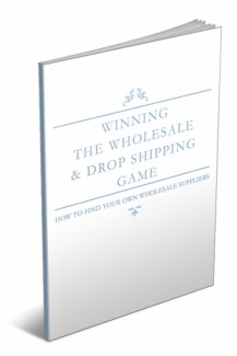 Winning The Wholesale  Dropshipping Game MRR Ebook
