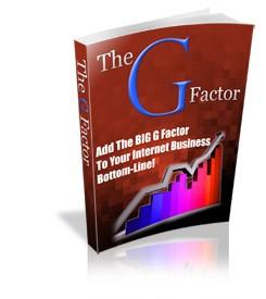 The G Factor PLR Ebook