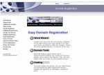 Domain Registration Blue Personal Use Template