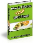 How To Choose Your Mp3 Player Resale Rights Ebook